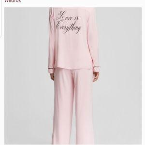 Wildfox Intimates & Sleepwear - WILDFOX Pajama set NWT Bridal Love is Everything